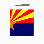 Arizona State Flag -  Mini Greeting Cards (Pkg of 8)