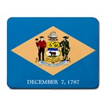 Delaware State Flag -  Small Mousepad