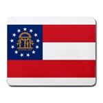 Georgia State Flag -  Small Mousepad