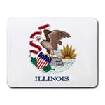 Illinois State Flag -  Small Mousepad