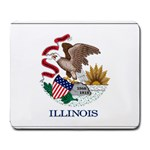 Illinois State Flag -  Large Mousepad