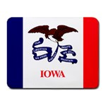 Iowa State Flag -  Small Mousepad