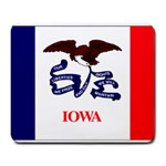 Iowa State Flag -  Large Mousepad