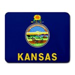 Kansas State Flag -  Small Mousepad