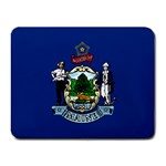 Maine State Flag -  Small Mousepad