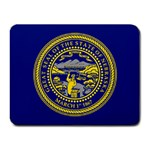 Nebraska State Flag -  Small Mousepad