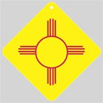 New Mexico State Flag -  Car Window Sign