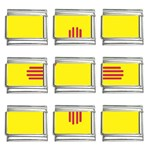 New Mexico State Flag -  9mm Italian Charm (9 pack)