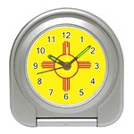 New Mexico State Flag -  Travel Alarm Clock