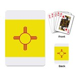 New Mexico State Flag -  Playing Cards Single Design