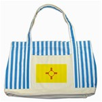 New Mexico State Flag -  Striped Blue Tote Bag