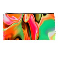 Catch The Waves Smoky Red Orange Haze  Pencil Cases