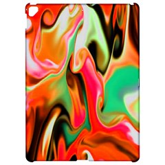 Catch The Waves Smoky Red Orange Haze  Apple Ipad Pro 12 9   Hardshell Case