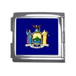 New York State Flag -  Mega Link Italian Charm (18mm)