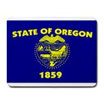 Oregon State Flag -  Small Mousepad