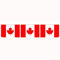 Canada Day Maple Leaf Canadian Flag Pattern Typography  Large Bar Mats