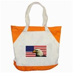 US Eagle Flag - Accent Tote Bag