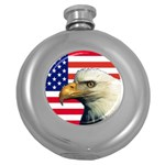 US Eagle Flag - Hip Flask (5 oz)