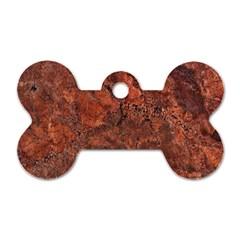 Granite 0096 Dog Tag Bone (two Sides)