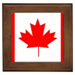 Canada Flag -  Framed Tile