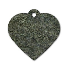 Granite 0091 Dog Tag Heart (two Sides)