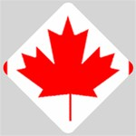 Canada Flag -  Car Window Sign