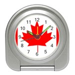Canada Flag -  Travel Alarm Clock