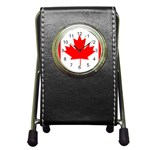 Canada Flag -  Pen Holder Desk Clock