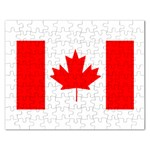 Canada Flag -  Jigsaw Puzzle (Rectangular)