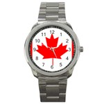 Canada Flag -  Sport Metal Watch