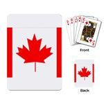 Canada Flag -  Playing Cards Single Design