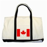 Canada Flag -  Two Tone Tote Bag