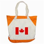 Canada Flag -  Accent Tote Bag