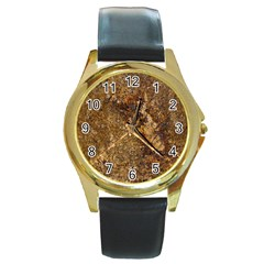 Granite 0095 Round Gold Metal Watch