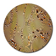 Pattern Abstract Art Round Mousepads