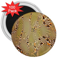 Pattern Abstract Art 3  Magnets (100 Pack)
