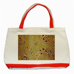 Pattern Abstract Art Classic Tote Bag (red)