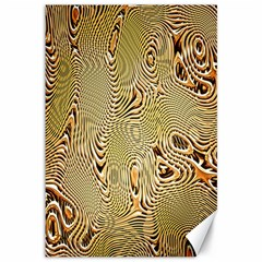Pattern Abstract Art Canvas 12  X 18