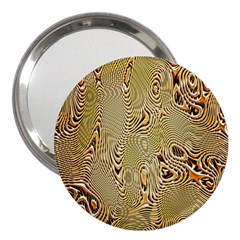 Pattern Abstract Art 3  Handbag Mirrors