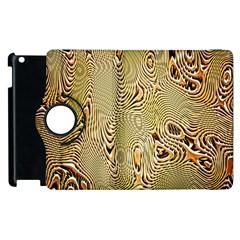 Pattern Abstract Art Apple Ipad 3/4 Flip 360 Case
