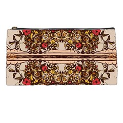 Roses Floral Wallpaper Flower Pencil Cases by Nexatart