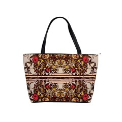Roses Floral Wallpaper Flower Shoulder Handbags