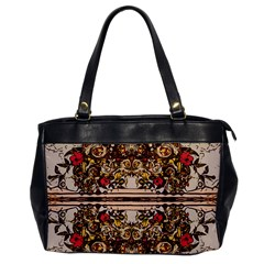Roses Floral Wallpaper Flower Office Handbags