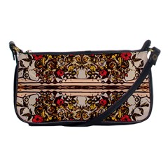 Roses Floral Wallpaper Flower Shoulder Clutch Bags