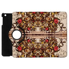 Roses Floral Wallpaper Flower Apple Ipad Mini Flip 360 Case