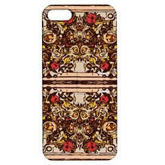 Roses Floral Wallpaper Flower Apple Iphone 5 Hardshell Case With Stand
