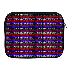 French Revolution Typographic Pattern Design 2 Apple Ipad 2/3/4 Zipper Cases by dflcprints