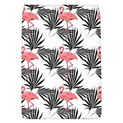 Pink Flamingos Palmetto Fronds Tropical Pattern Flap Covers (l)