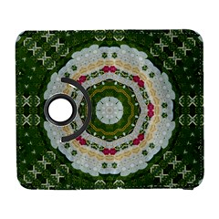 Fantasy Jasmine Paradise Love Mandala Samsung Galaxy S  Iii Flip 360 Case by pepitasart