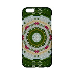 Fantasy Jasmine Paradise Love Mandala Apple Iphone 6/6s Hardshell Case by pepitasart
